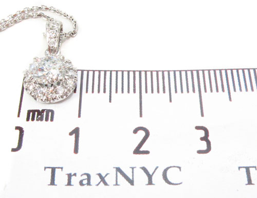Prong Diamond Necklace 34143 Diamond