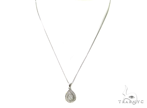 Prong Diamond Necklace 37977 Diamond