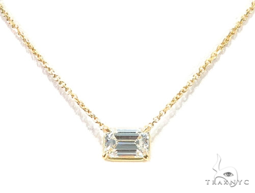 Prong Diamond Necklace 42635 Diamond