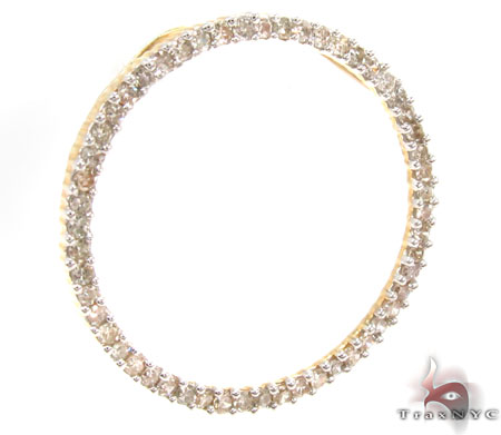 Prong Diamond Pendant 30669 Stone