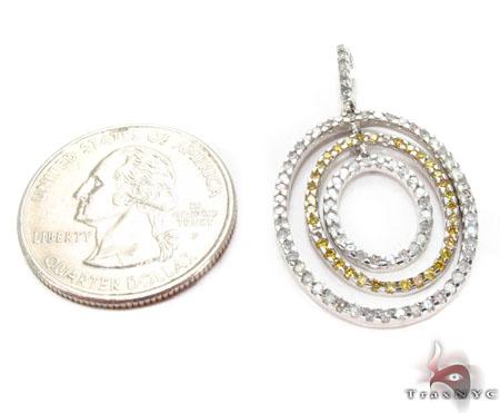 Prong Diamond Pendant 30675 Stone