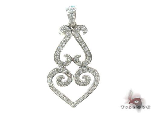 Prong Diamond Pendant 34660 Stone