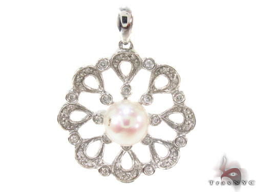 Prong Diamond Pendant 34673 Stone