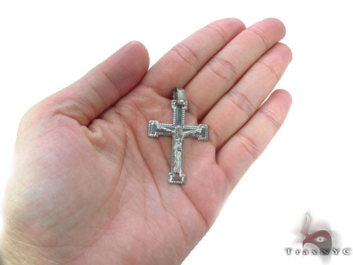 Silver Cross Crucifix 34678 Silver