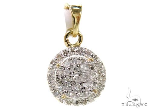 Prong Diamond Pendant 37892 Stone