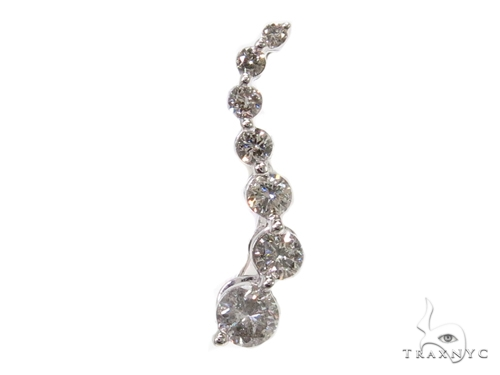Prong Diamond Pendant 40372 Stone