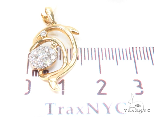 Prong Diamond Pendant 43587 Stone