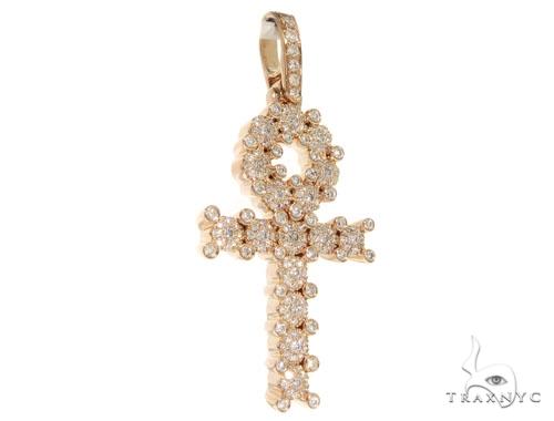 Prong Diamond Cross Crucifix 58601 Diamond