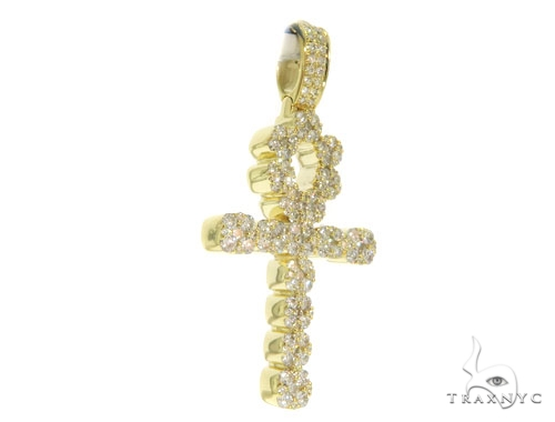 Prong Diamond Cross 58602 Diamond