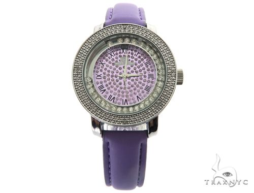Prong Diamond Purple Super Techno Watch I-5516 43573 Super Techno