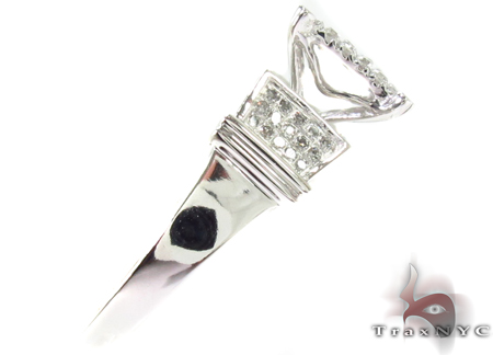 10K White Gold Diamond Ring 32349 Anniversary/Fashion