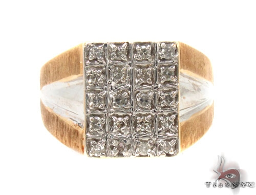 Prong Diamond Ring 35473 Stone