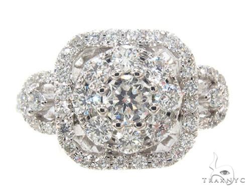 Prong Diamond Ring 35681 Anniversary/Fashion