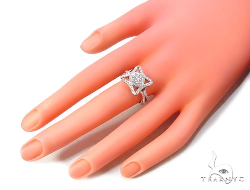 Prong Diamond Ring 35679 Anniversary/Fashion