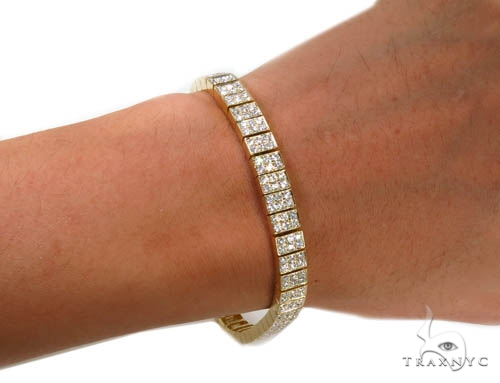 Prong Diamond Bracelet 37400 Diamond