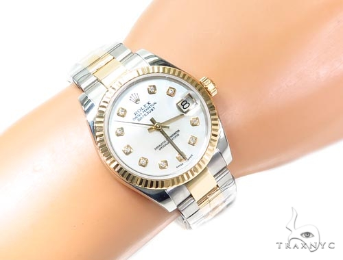 Rolex Datejust Steel & Yellow Gold 116233 Diamond Rolex Watch Collection
