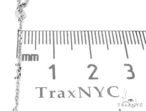 Prong Diamond Ruby Gemstone Necklace 35272 Gemstone
