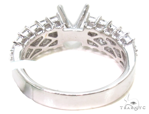 Prong Diamond Semi Mount Ring 36523 Engagement