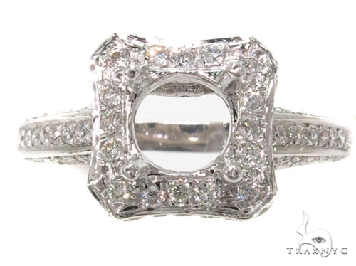 Prong Diamond Semi Mount Ring 39533 Engagement