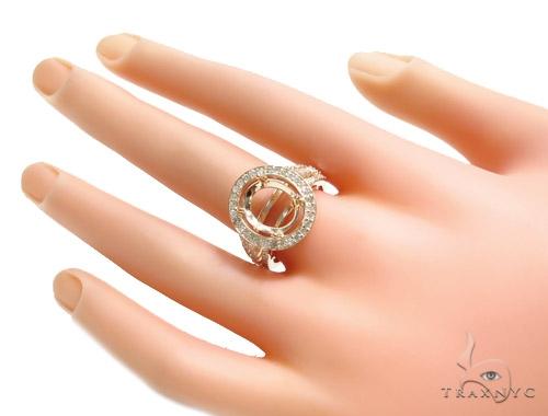 Prong Diamond Semi Mount Ring. 41062 Engagement