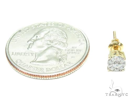Prong Diamond Stud Earrings 41868 Style