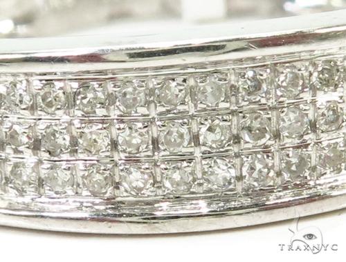 Prong Diamond Wedding Band 39475 Stone