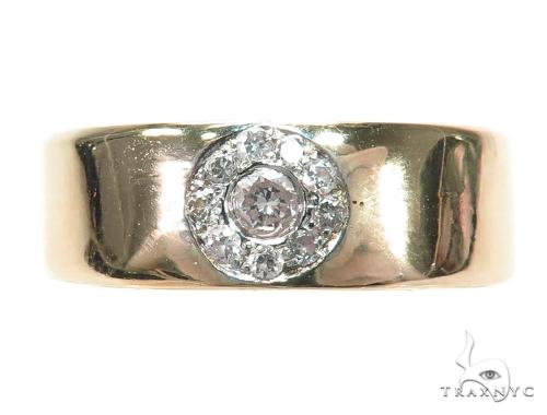 Prong Diamond Wedding Band 42456 Style