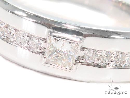 Prong Diamond Wedding Band 43567 Style