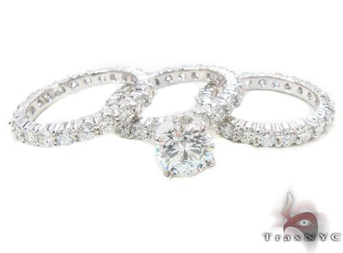 Prong Diamond Wedding Ring 34331 Engagement