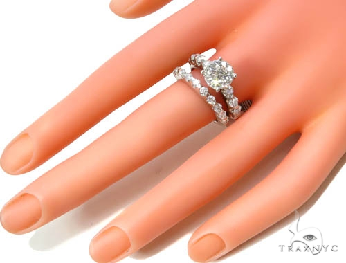 Prong Diamond Wedding Ring 37056 Engagement