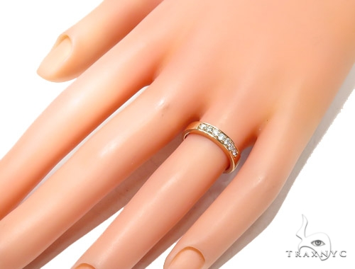 Prong Diamond Wedding Ring 41890 Wedding