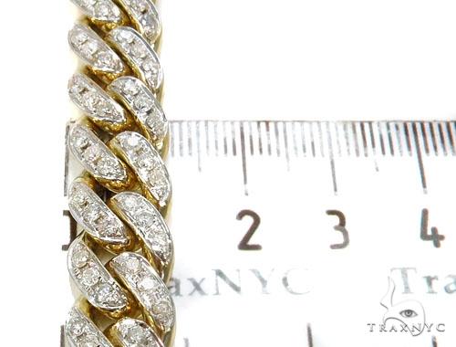 Pave Diamond Miami Cuban Link Chain 30 Inches 12mm 232.9 Grams 40448 Diamond