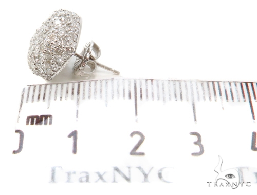 Prong Pillow Single Earring 40582 Style