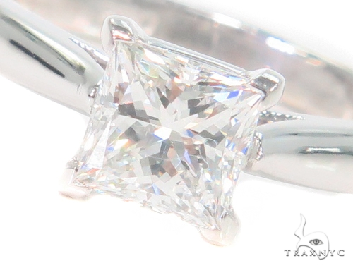 Prong Princess Diamond Engagement Ring 44607 Engagement