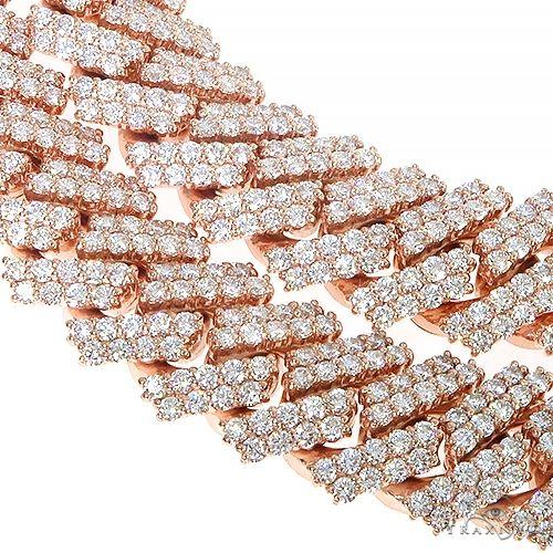 Prong Set Diamond Cuban Chain By Dan 66850 Diamond