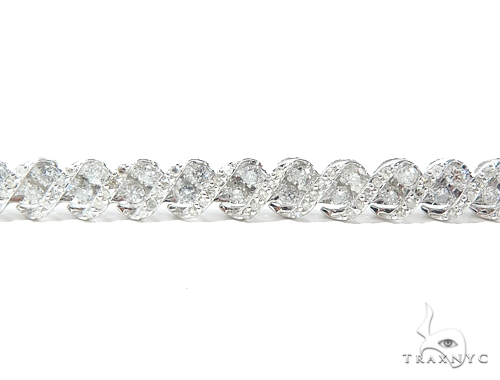 Prong Tennis Diamond Bracelet 42629 Tennis