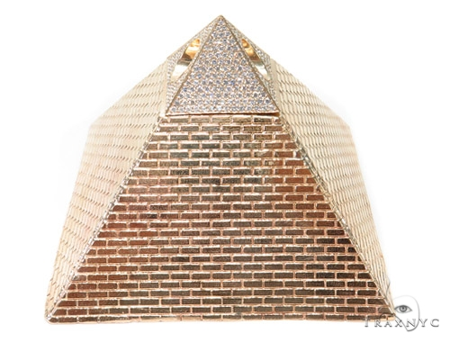 Pyramid Diamond Pendant 45238 Metal