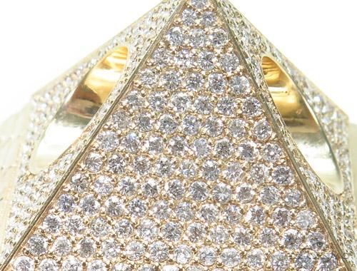 Pyramid Diamond Pendant 45238 Metal