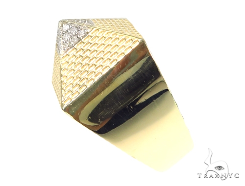 Pyramid Diamond Ring 45292 Stone