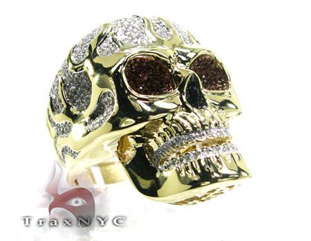 Raider Skull Ring Stone