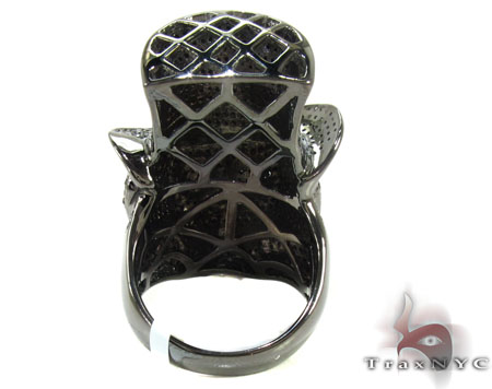 Rich Boy Skull Diamond Ring Stone