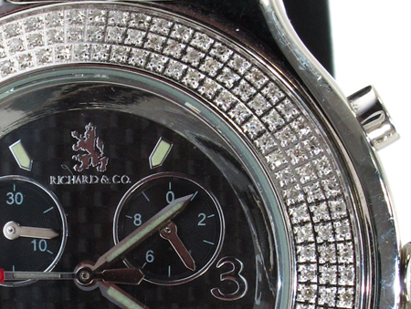 Richard & Co Diamond Watch RC-3004 Richard & Co