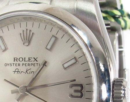 Rolex Air-King Steel Watch 114200 Diamond Rolex Watch Collection