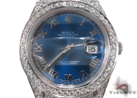 Rolex Datejust II Steel 116300 Diamond Rolex Watch Collection