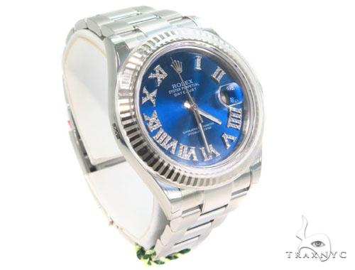 Rolex Datejust II Steel 116300 44573 Diamond Rolex Watch Collection