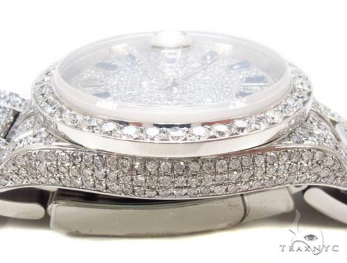 Rolex Datejust II Steel Diamond Watch 35359 Diamond Rolex Watch Collection