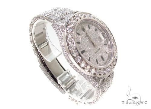 Rolex Datejust II Steel Fully Diamond Watch Diamond Rolex Watch Collection