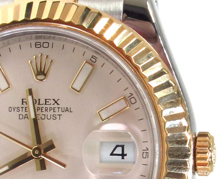 Rolex Datejust II Steel and Gold 116333 Diamond Rolex Watch Collection
