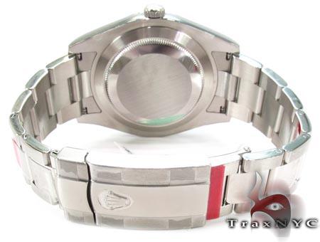Rolex Datejust II Blue Steel & White Gold 116334 Diamond Rolex Watch Collection