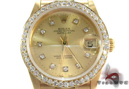 Rolex Datejust President Yellow Gold 178278 Diamond Rolex Watch Collection